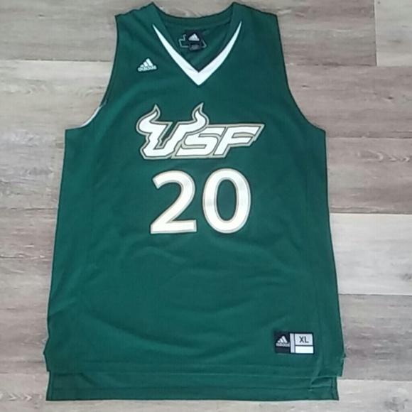 factory price b9099 641ce Adidas USF Bulls Basketball Jersey